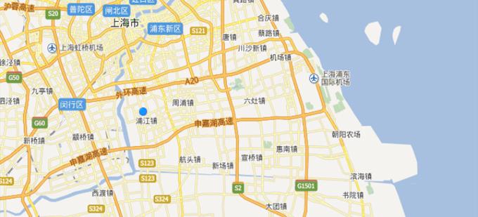 心航报关保税仓储地理位置